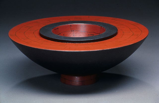 Red Rubber Bowl