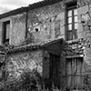 """Remains of a Charming House""  An old house of rock construction in the village of Trasulfe, Spain."