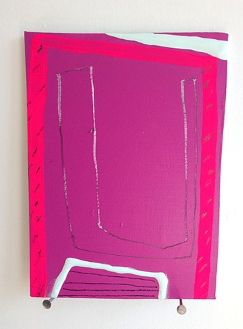 Untitled (Pink Pencil Form)