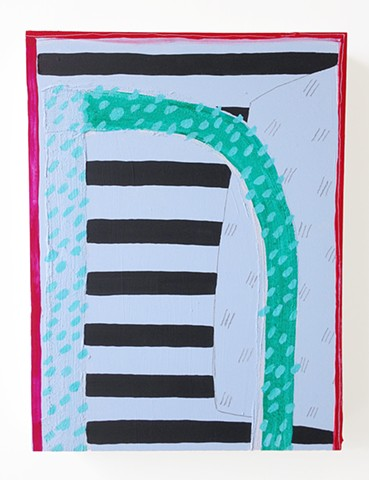 Untitled (Black Stripes)