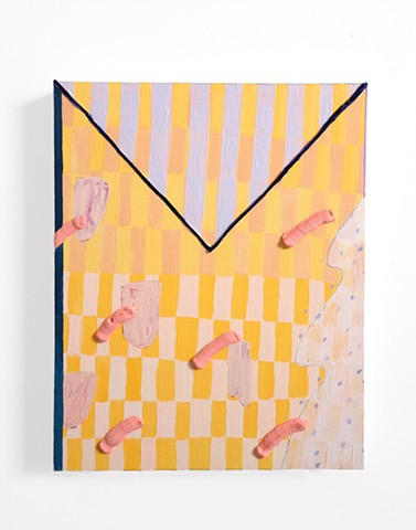 Untitled (Yellow Back Grid)