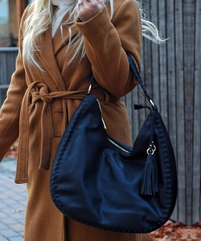 Winter '17 - vegan tote + camel jacket