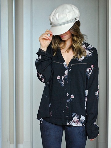 Winter '17 - gentlefawn top and brixton ashland cap