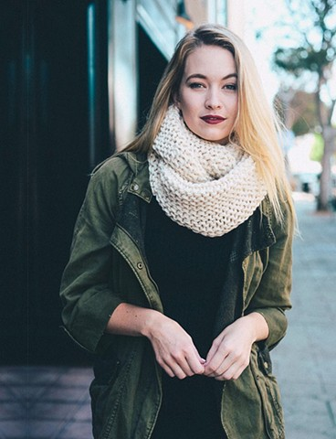 Fall 2016 - cream scarf
