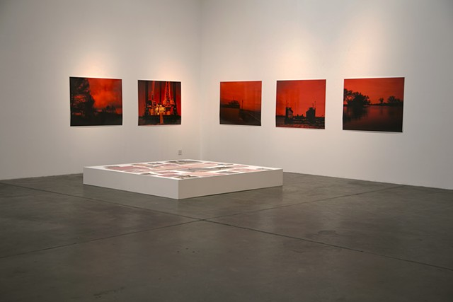 """Wait 'til You See the Devil's Punchbowl"" installation shot"