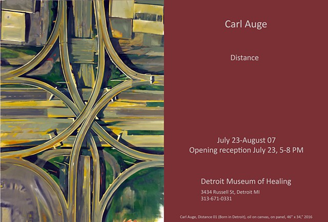 Distance, solo exhibit, Detroit MI, opening July 23