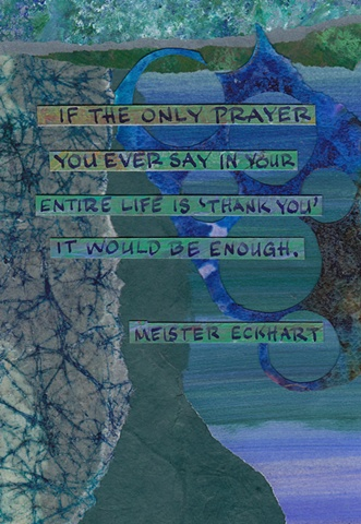Eckhart - Only Prayer