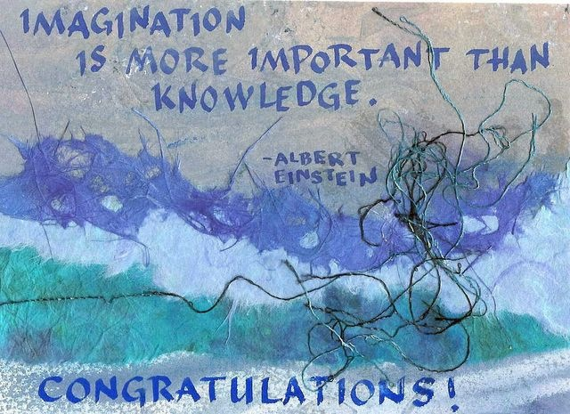 Congratulations; Einstein - Imagination