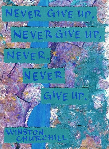 Churchill - Never Give Up