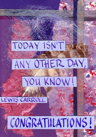 Congratulations; Carroll - Any Other Day