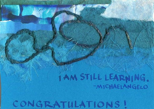 Congratulations; Michaelangelo - Still Learning
