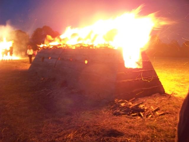 A Midsummer Night Fire Performance