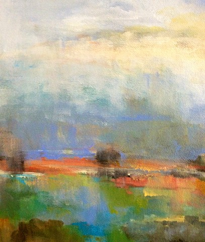 Ethereal Landscape Karen Keil Brown Ether...