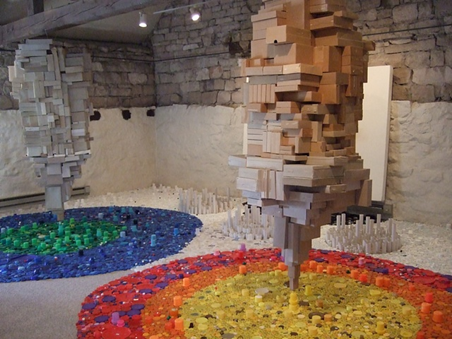 installation, sculpture, recycled, environmental