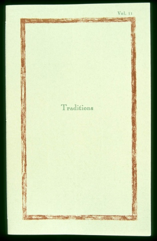 Doubly Bound:  Traditions