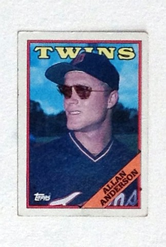 Baseball Card Sunglasses 1
