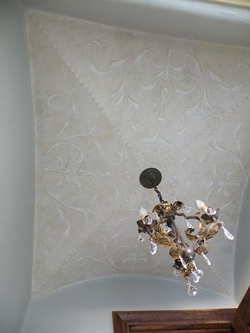 Powder ceiling