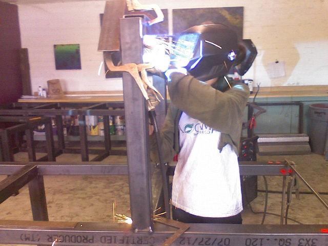 Amanda welding