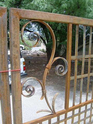 Scroll Gate detail