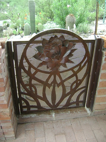 Moira's Porch Gate