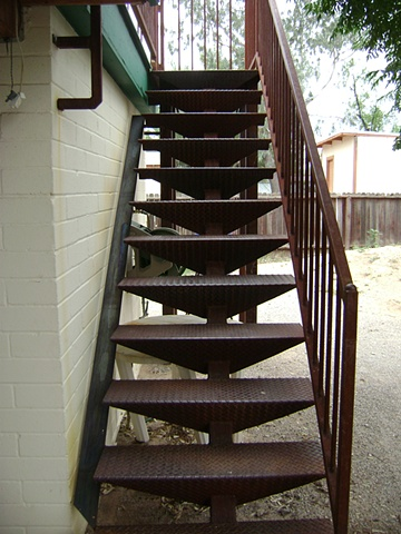 Kevin's Stairs frontal