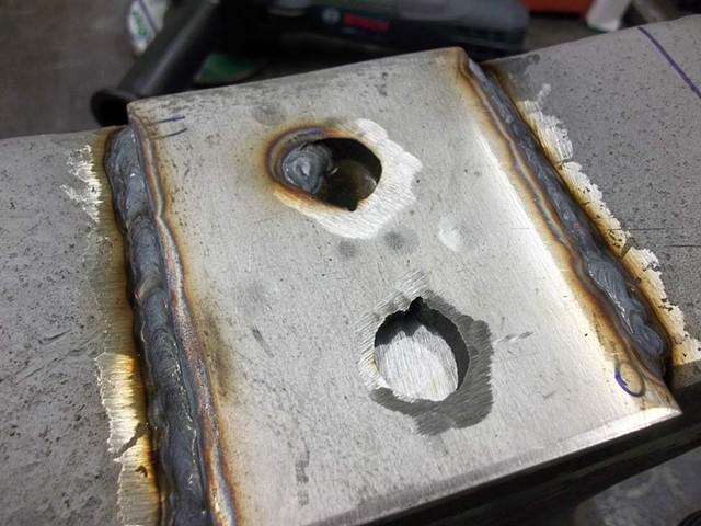 TIG weld