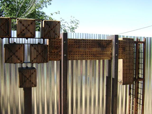 Bee Habitat Sculptures