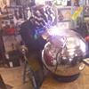 Sphere TIG welding