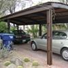 Rolled Carport