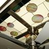 Skylight glass detail