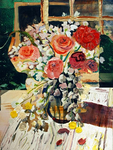 contemporary still life painting, contemporary painting