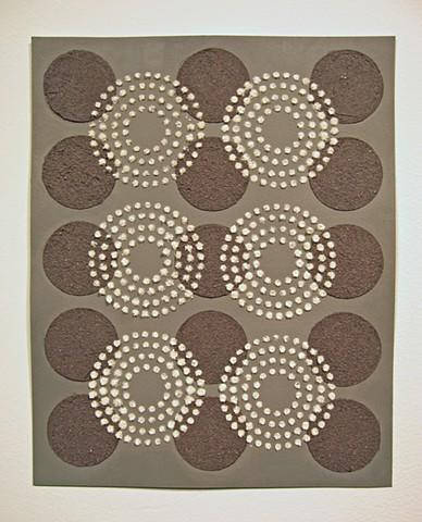 Untitled (white circles/black dots)