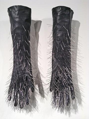Black Pin Gloves