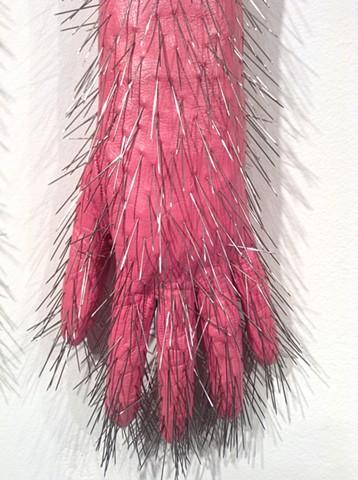 Pink Pin Gloves