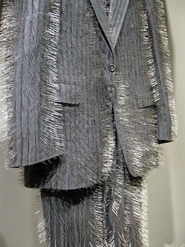 Pin Stripe Suit (detail)