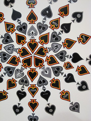 Ace of Spades Mandala (detail)