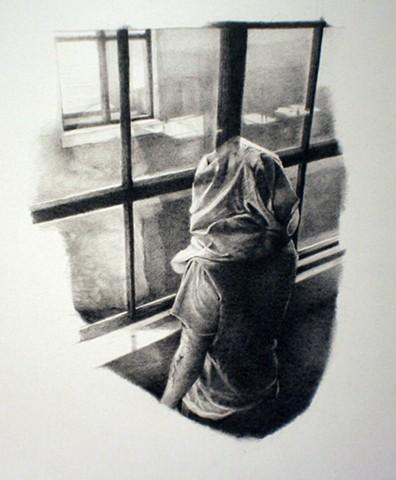lyman, drawing, figure, graphite