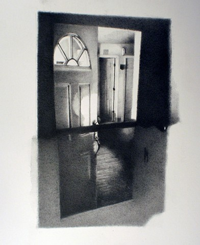 interior, drawing, sean lyman, missouri state, K space contemporary, 3rd coast