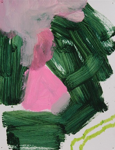 Abstract Study Green/Pink IV