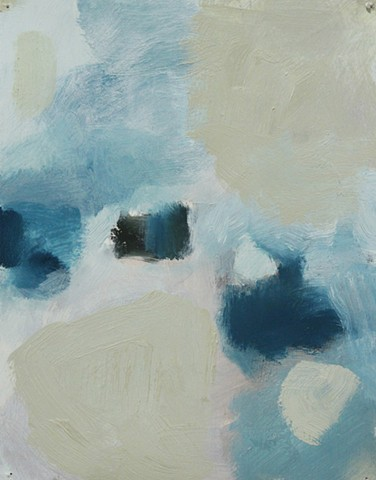 Abstract Study Blue/Grey III