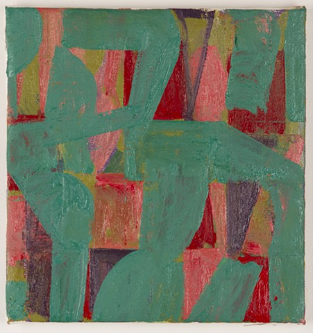 Untitled (red and green)