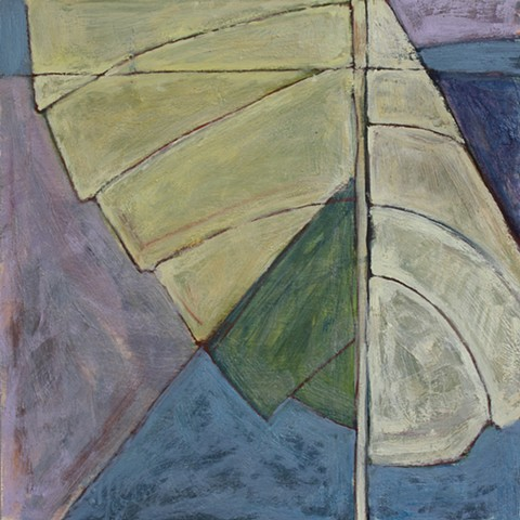 Contemporary Art / Painting / Oil  / Encaustic,  Sea Geometry No. 171, Richard Keen