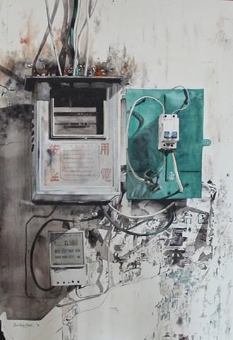 Short Circuit Watercolor