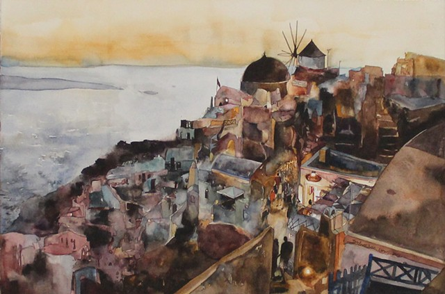 Romance of Santorini