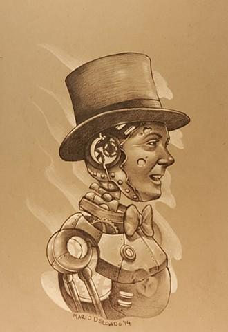 victorian robot