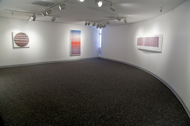 """Screensaver"" installation view @ winchester gallery,  Las vegas, NV."