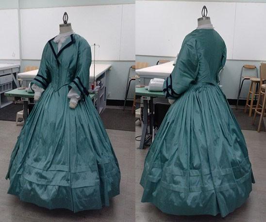 Civil War Day Dress