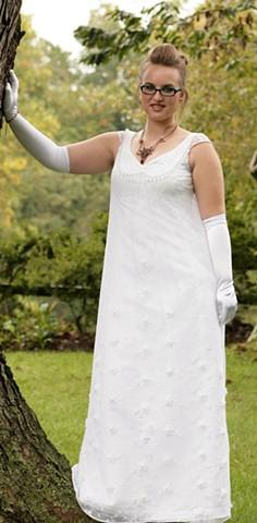 My Fair Lady Inspired Wedding Dress