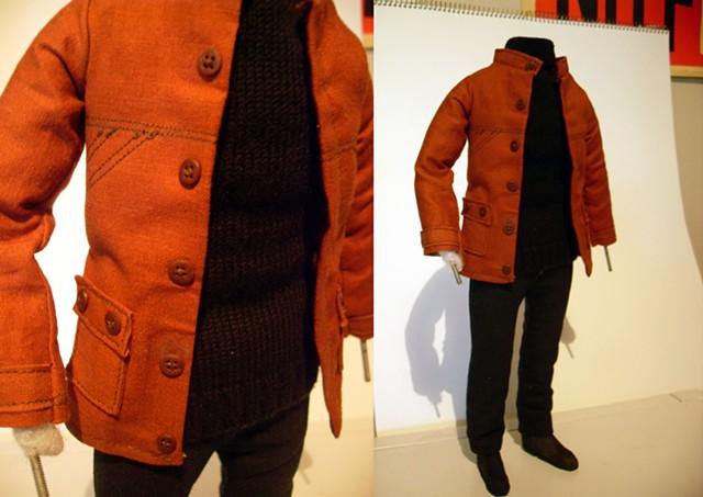 Modern Orange Coat