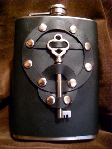 Black Key Flask